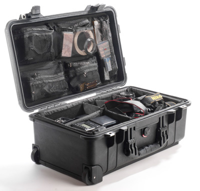 This shows all the gear in the Peli 1510 case